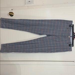 Men's Zara dress pant plaid